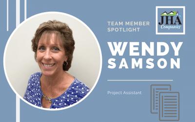 Team Member Spotlight: Wendy Samson