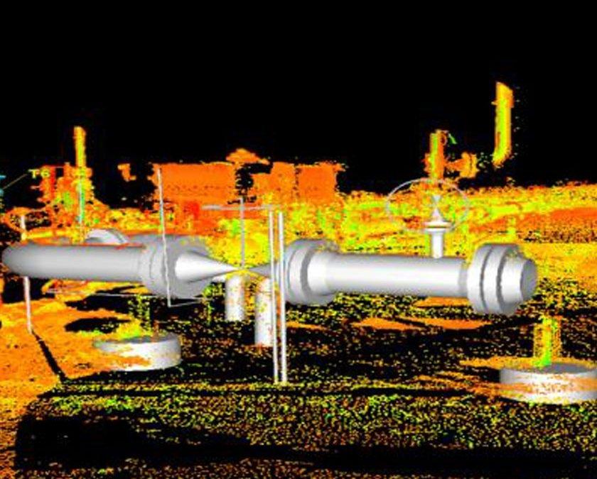 3D HDS Scanning – Compressor Slug Catcher