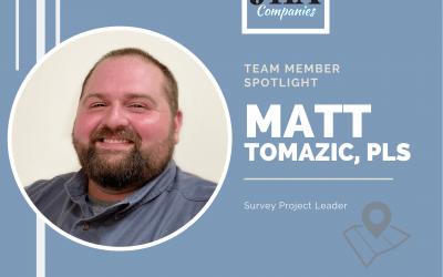 Team Member Spotlight: Matt Tomazic, PLS